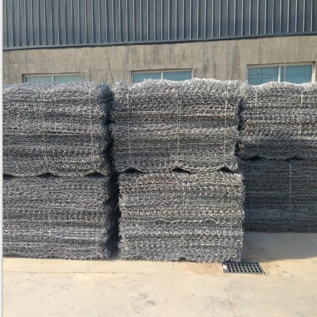 Hexagonal Woven Gabione / Doppel Twist Gabion Box