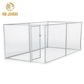 Große Outdoor-Metall-Hundehütte Chain Link Mesh-Dog Playpen